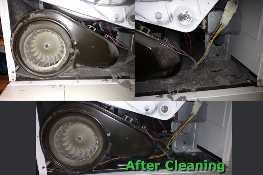 how to clean inside of dryer vent